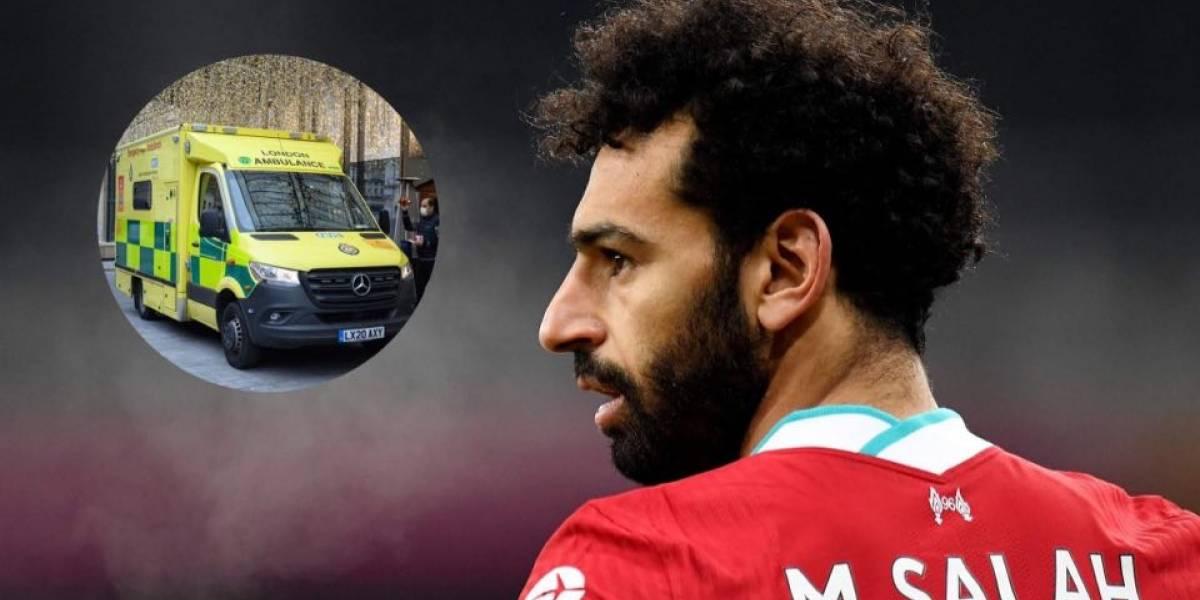 Mohamed Salah dona ambulancia y tanques de oxígeno a Egipto