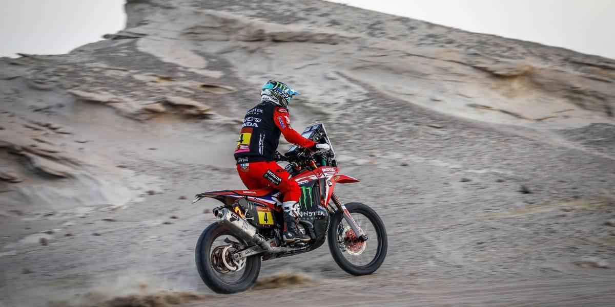Rally Dakar: José Ignacio Cornejo abandona la competencia tras sufrir una caída