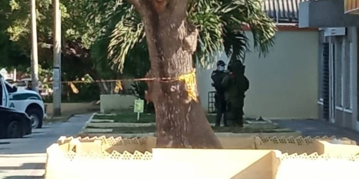 Autoridades desactivaron una granada de fragmentación en local en Barranquilla