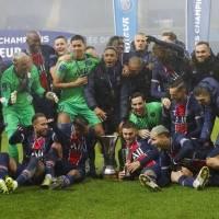 PSG conquista su octava Supercopa de Francia consecutiva