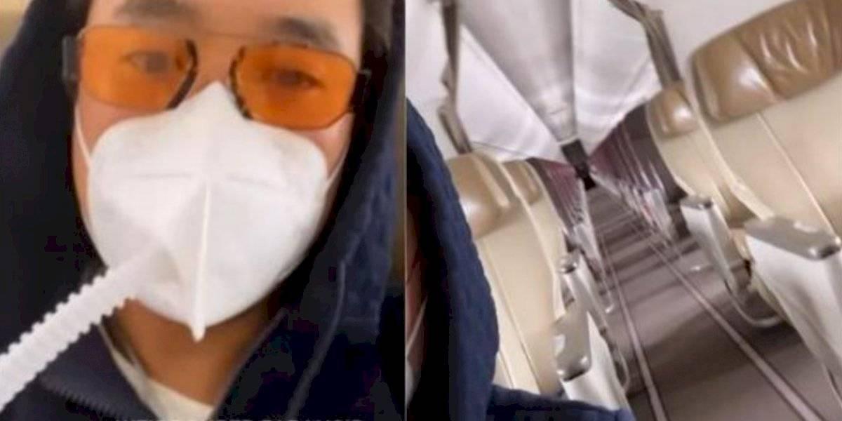 Empresario millonario compra todos los boletos de un vuelo para evitar contagiase de Covid
