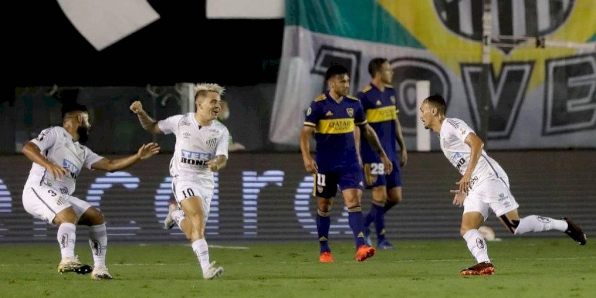 Santos apalea a Boca Juniors y enfrentará en la final al Palmeiras