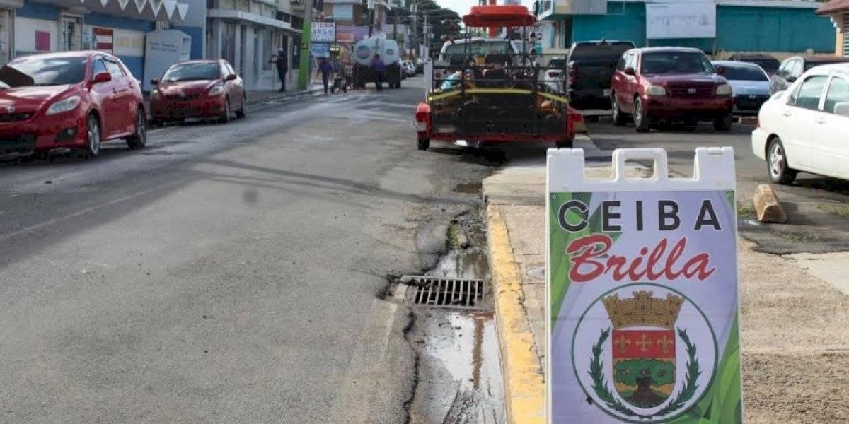 Nuevo alcalde de Ceiba comienza su labor con gran limpieza en el pueblo