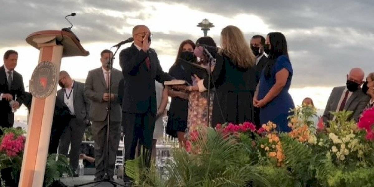 Luis Irizarry Pabón juramenta como alcalde de Ponce