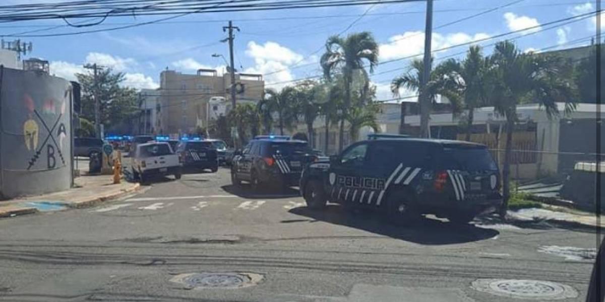 Policía continúa amplio operativo en residencial Llorens Torres