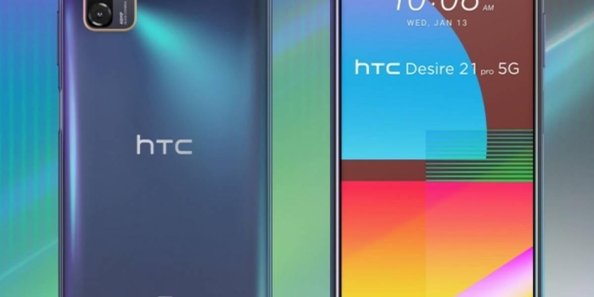 Portaltic.-HTC anuncia Desire 21 Pro 5G, con procesador Snapdragon 690 y pantalla de 90Hz