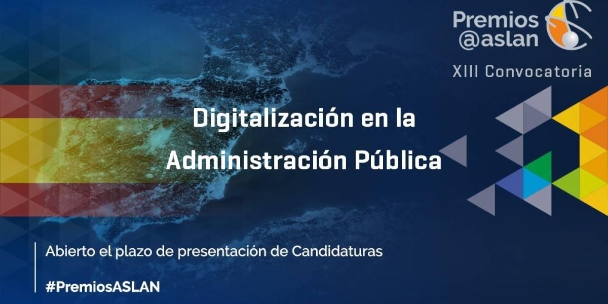 Portaltic.-ASLAN abre la convocatoria a sus premios a las mejores prácticas de digitalización en la Administración Pública