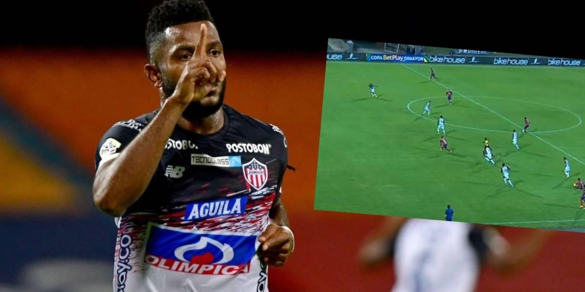 VIDEO   La queja de Miguel Borja después de Medellín VS Junior ...