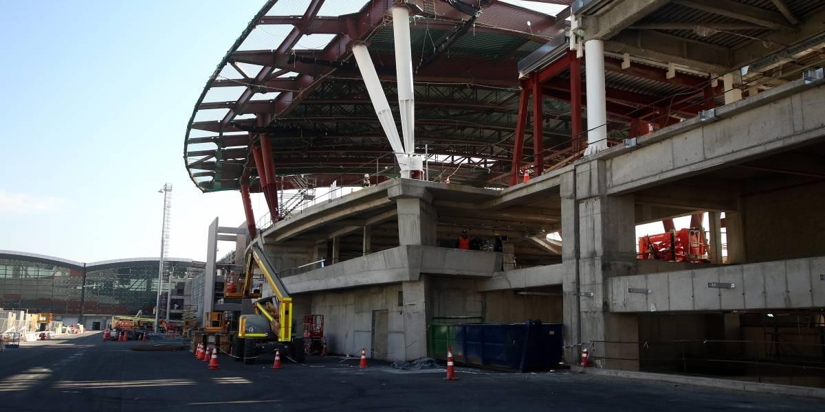 Decretan embargo de bienes de constructora del Aeropuerto Nuevo Pudahuel