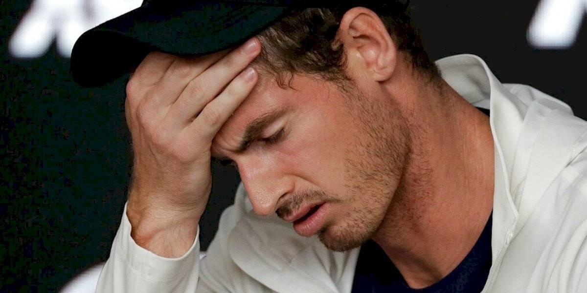 Andy Murray da positivo a Covid-19 y se perdería el Abierto de Australia