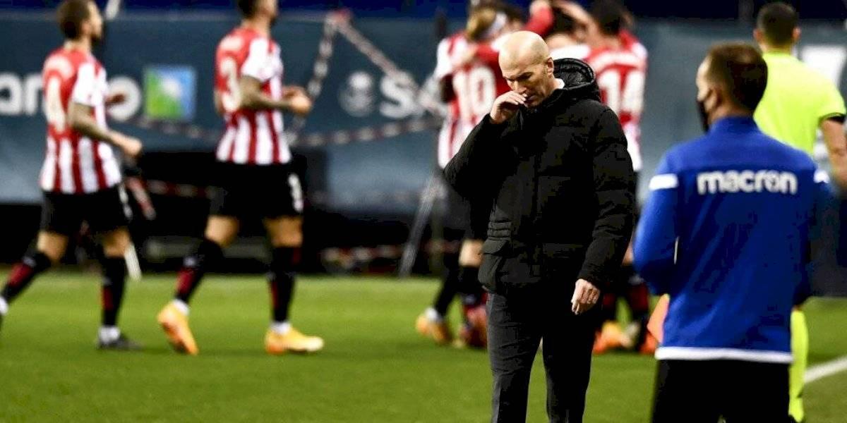 """Zidane asegura que """"no es un fracaso"""" la eliminación del Real Madrid"""