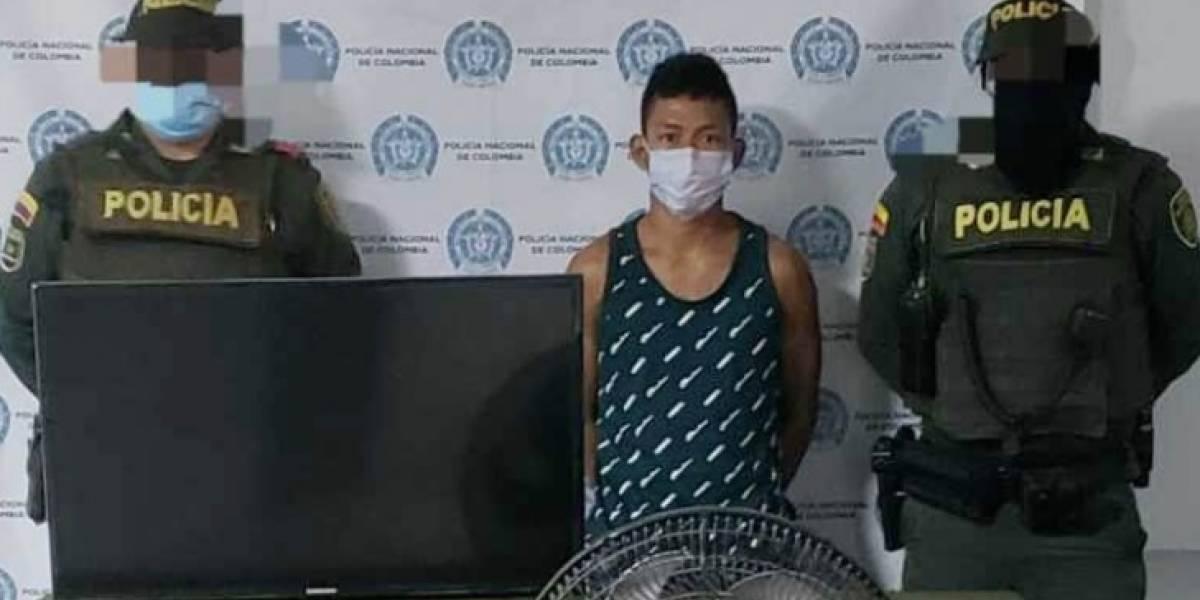 Capturaron a un ladrón que entró a robar en casa de un policía