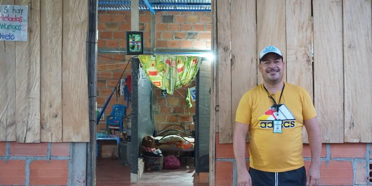 """""""Nunca sospeché que el destino me fuera a cambiar"""": Orlando Balcarcel, sobreviviente de mina antipersonal"""