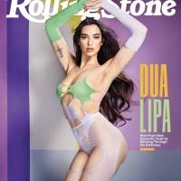Dua Lipa sorprende con fascinantes fotos en portada de Rolling Stone
