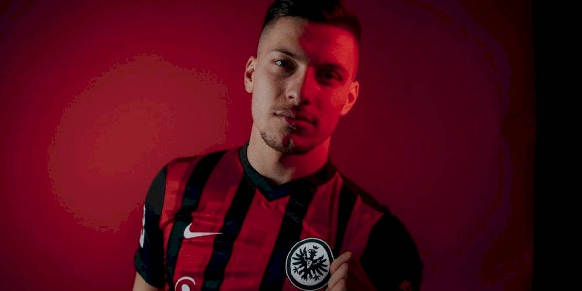Luka Jovic deja al Real Madrid y regresa al Eintracht Frankfurt