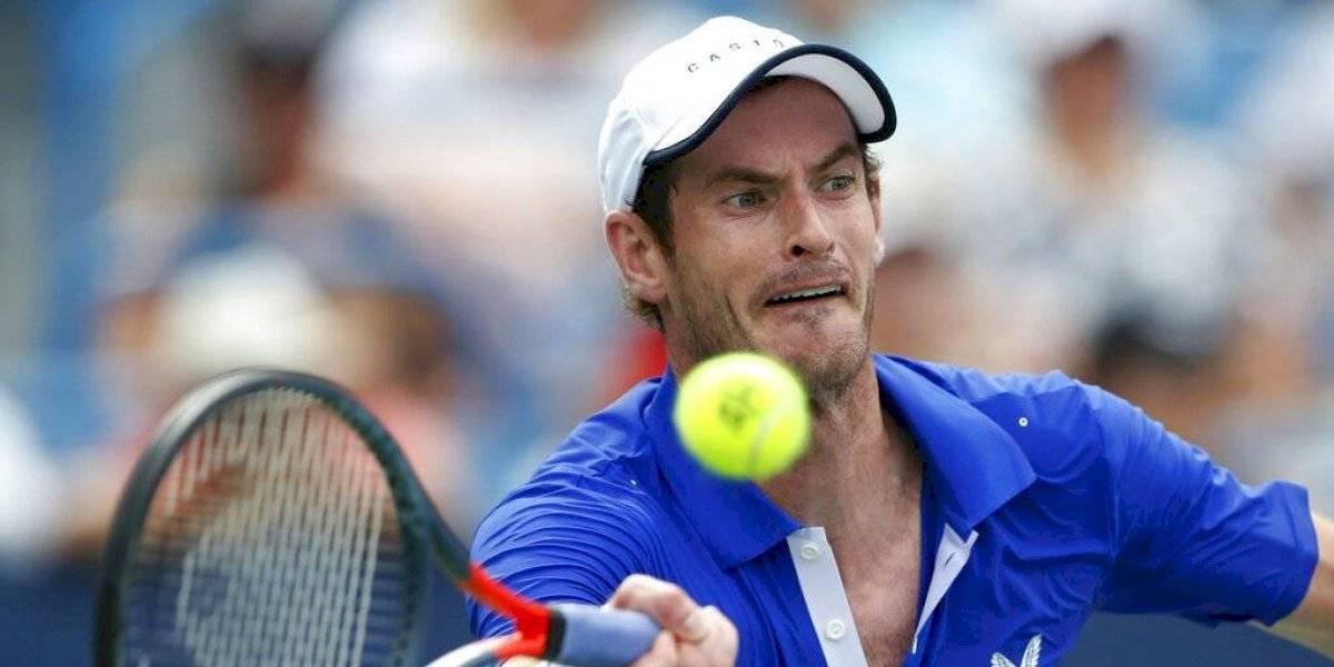 Andy Murray da positivo a COVID-19 a semanas del inicio del Abierto de Australia