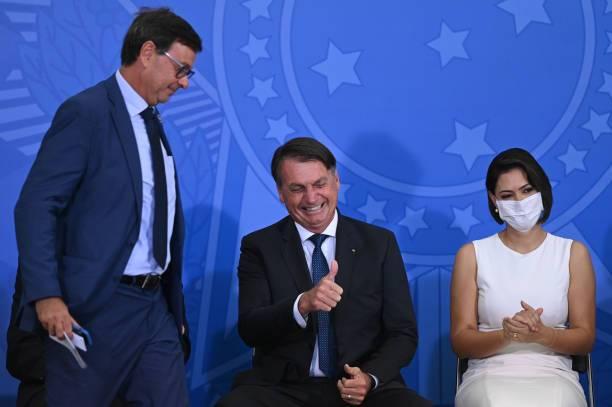 Jair Bolsonaro, presidente de Brasil. Su estrategia frente al COVID-19 ha sido muy criticada.
