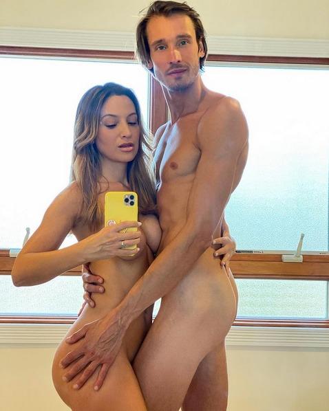 Daniela Palavecino y Deniss Rakovich