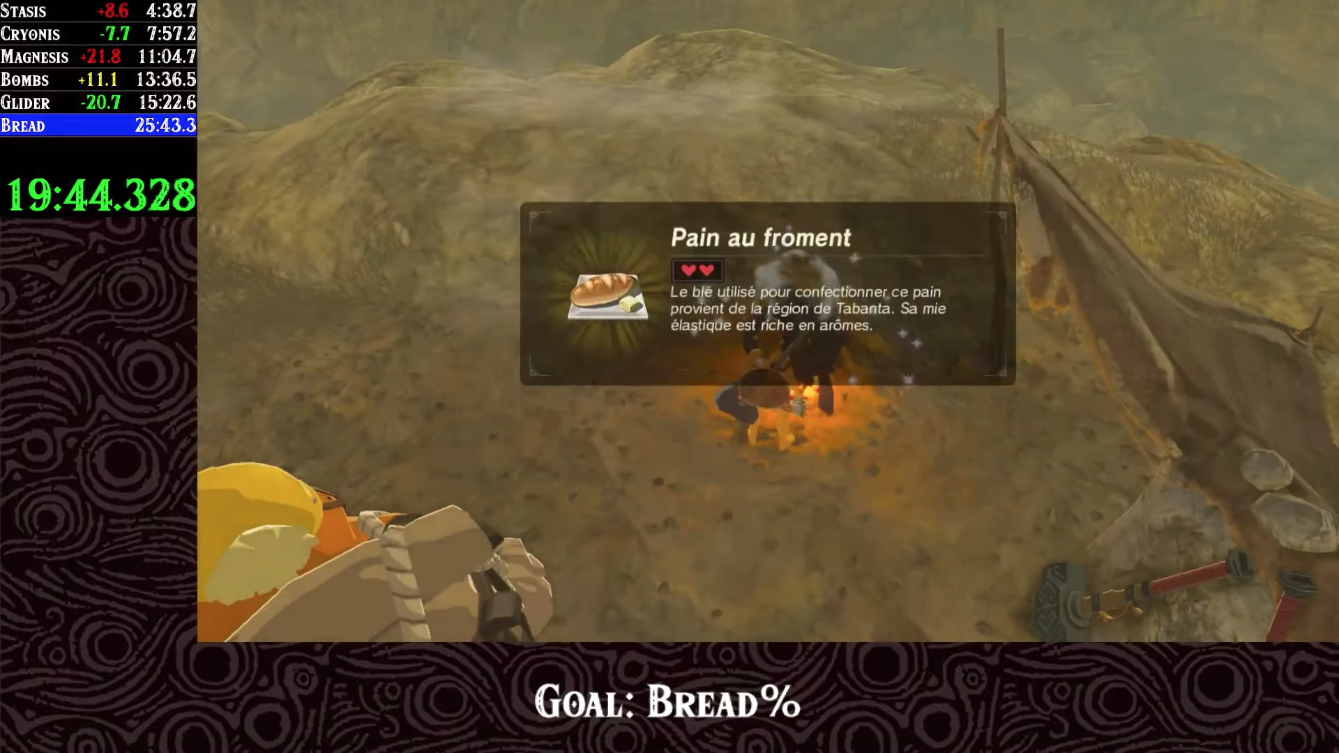 The Legend of Zelda Breath of the Wild Speed Run pan