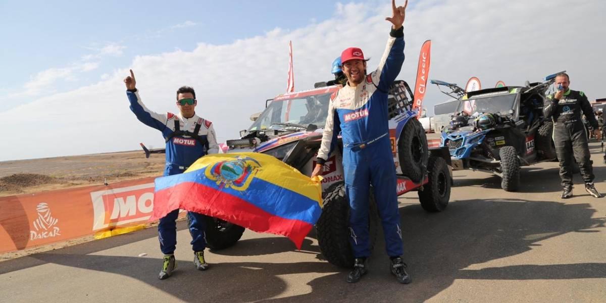 Sebastián Guayasamín y Ricardo Torlaschi terminan el rally más duro del planeta Dakar 2021