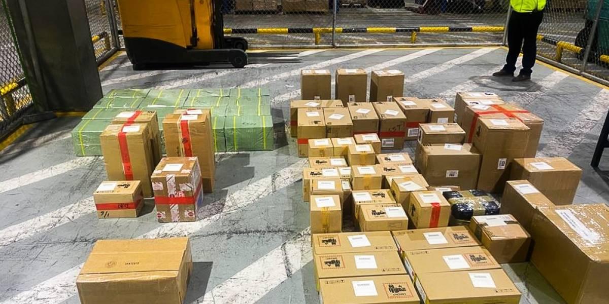 Senae detecta 1200 celulares declarados como repuestos que pretendían ingresar al país