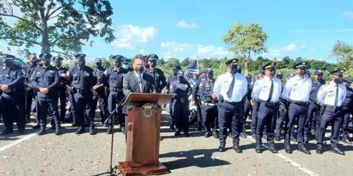 Ascienden a sargento a los policías de Carolina asesinados