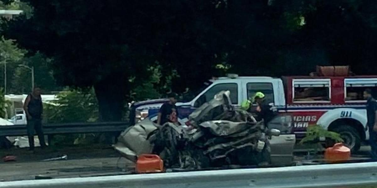 Accidente fatal en Bayamón
