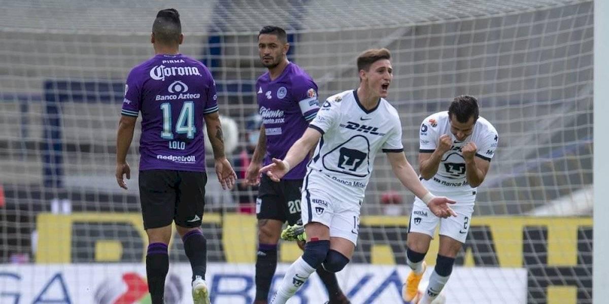 Juan Ignacio Dinenno sufre lesión vs Mazatlán FC — Pumas