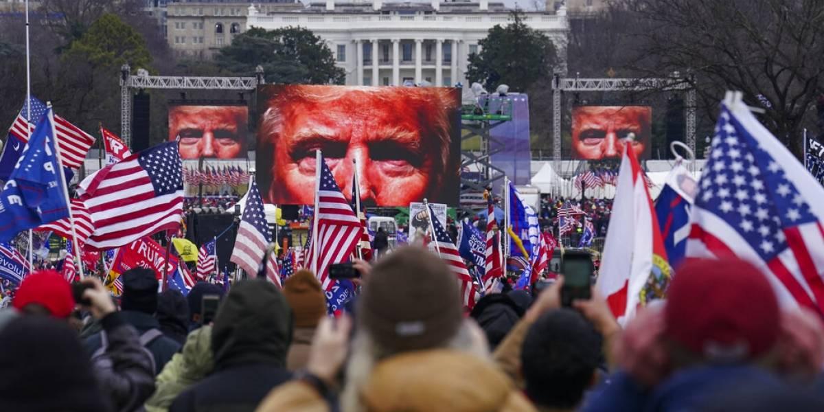 Aliados de Trump detrás de una reunión previo a ataque a Capitolio