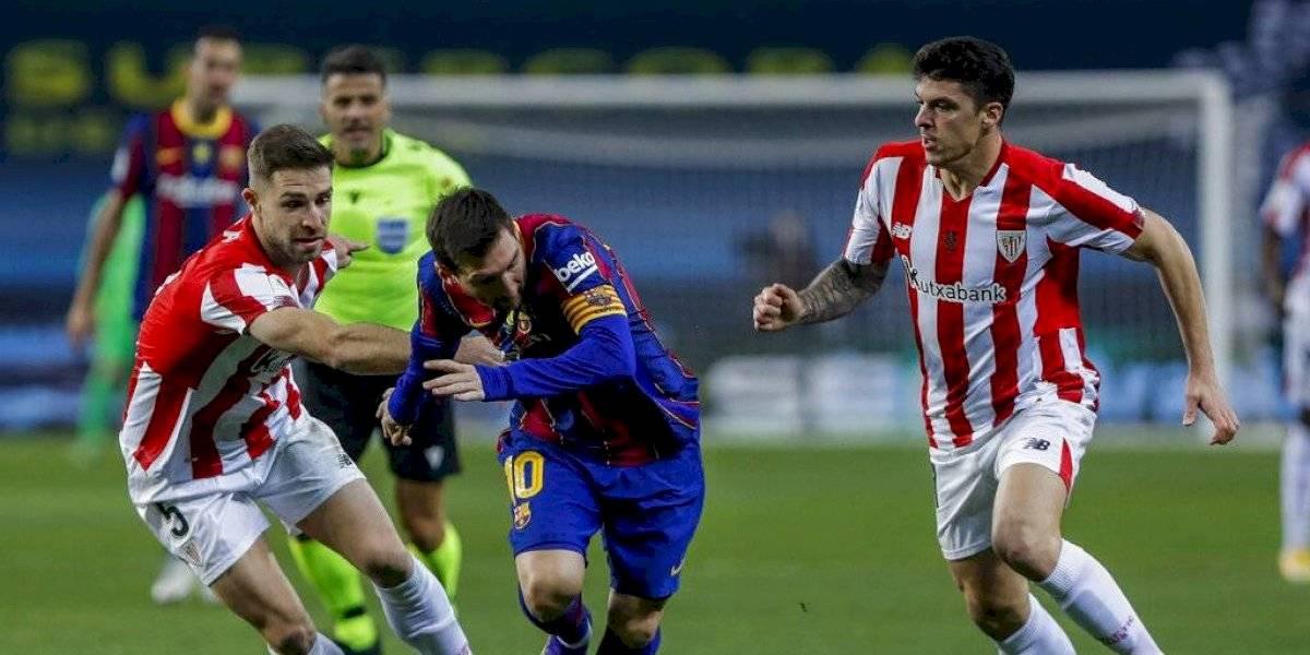Video: la jugada de Messi que le costó la primera tarjeta roja como jugador del FC Barcelona