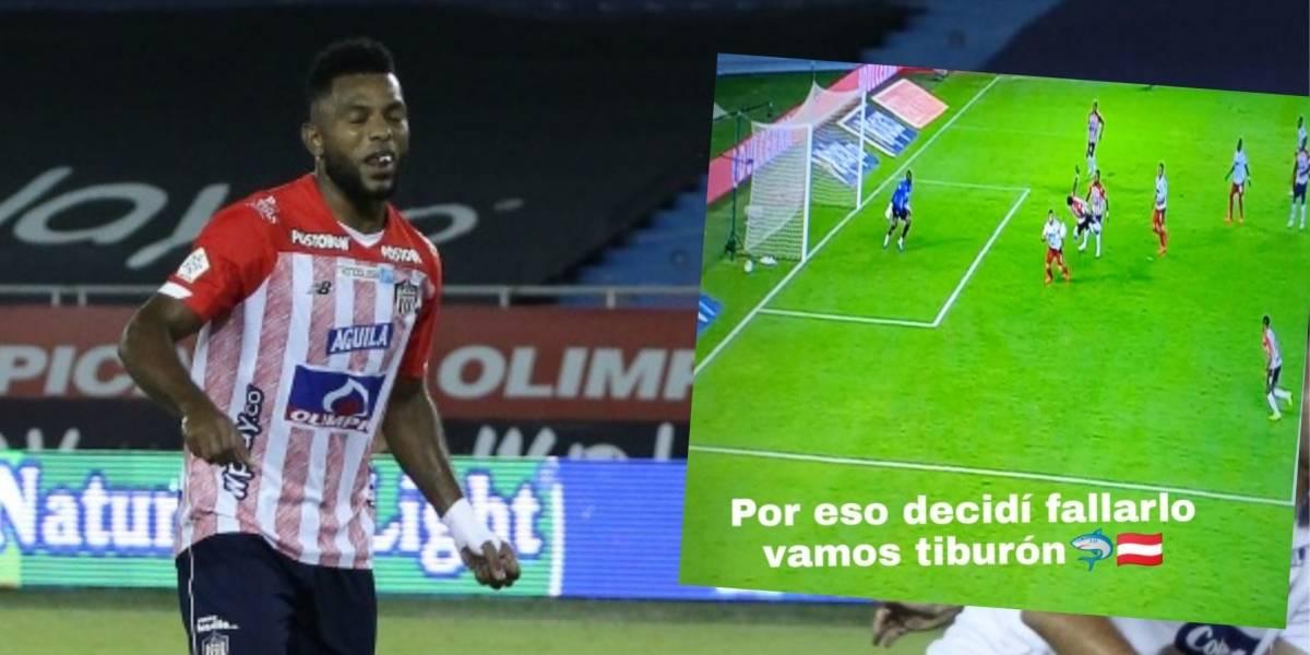 VIDEO | Comentarios contra Miguel Borja por el arbitraje de Junior ...