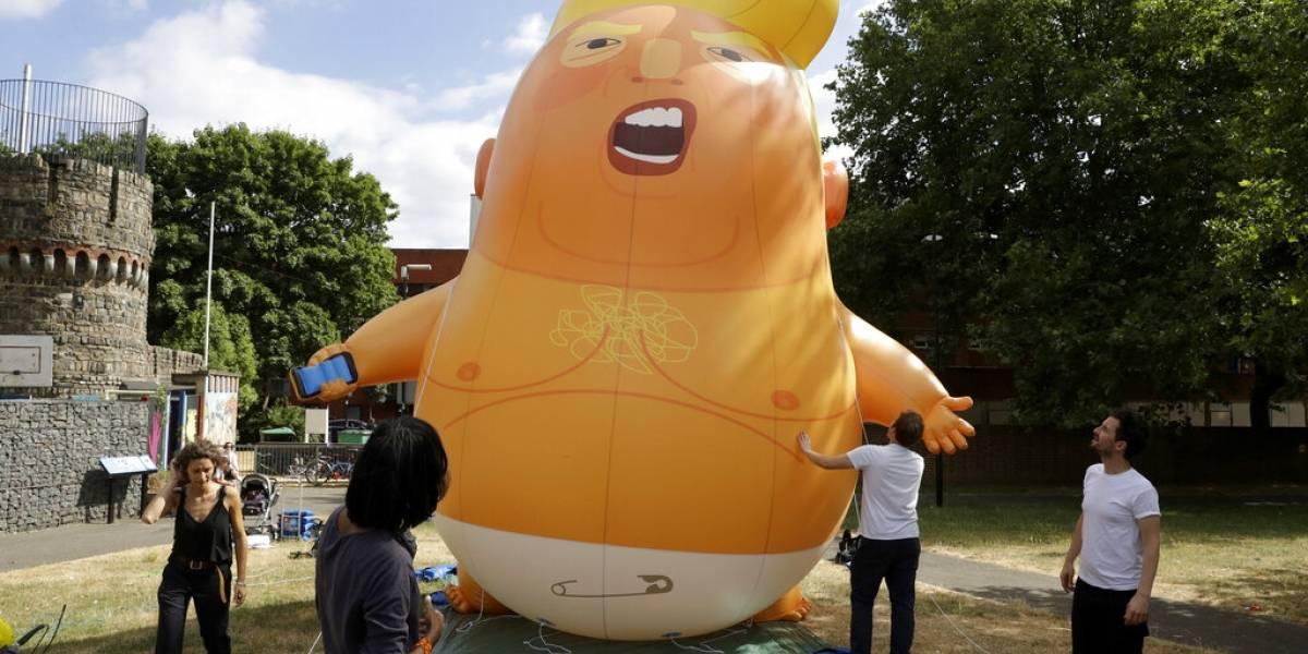 """Museo de Londres adquiere """"Bebé Trump"""" para su colección"""