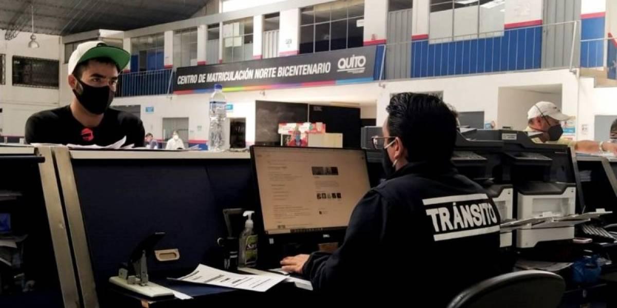 Matriculación y revisión técnica vehicular en Quito se inicia a partir del 1 de febrero
