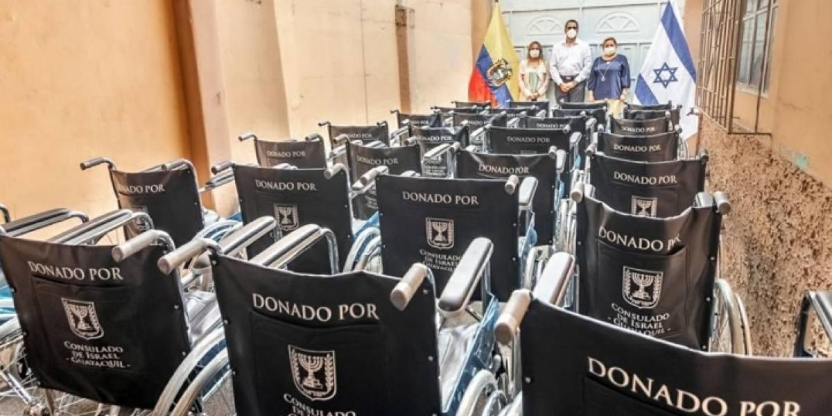 Consulado general de H. de Israel realiza donación al Municipio de Guayaquil
