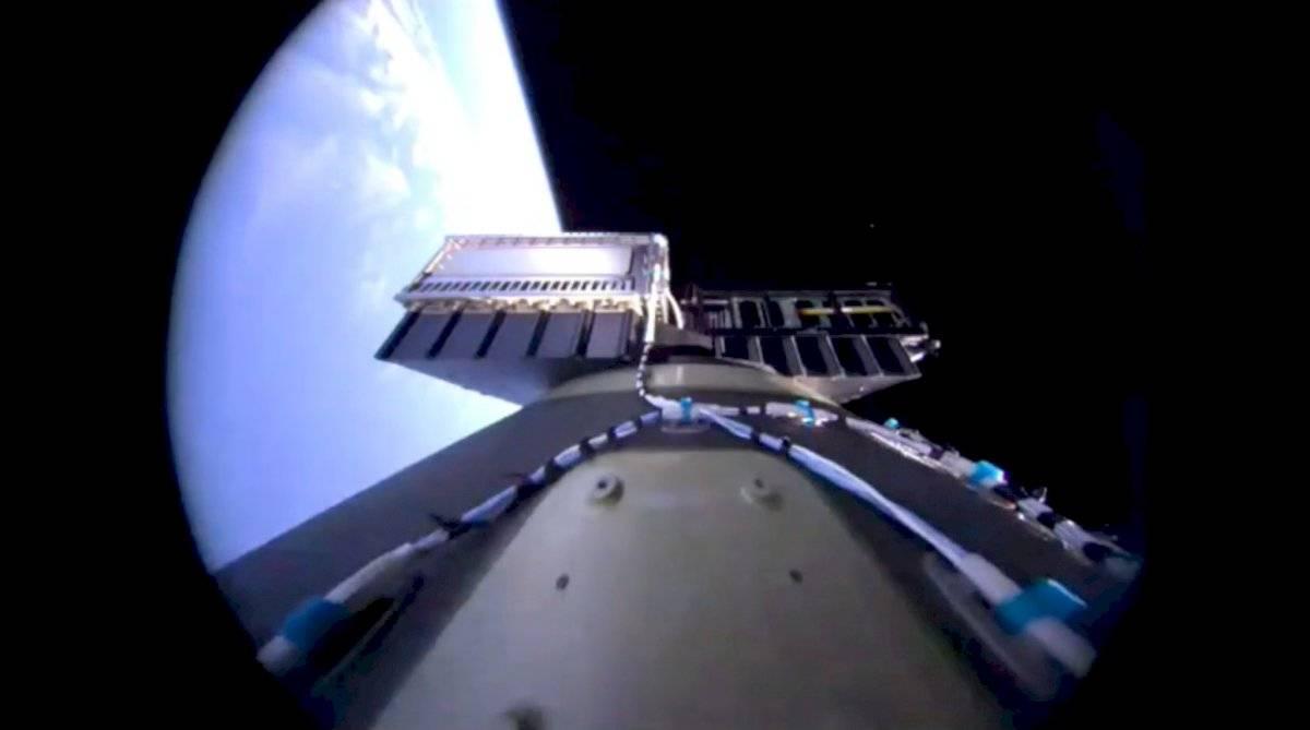 Cohete de Virgin Orbit.