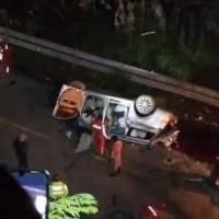 Trágico accidente en la vía Balsapamba- Guaranda deja 13 fallecidos