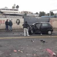 Fatal accidente en Pelileo deja cuatro fallecidos y una persona herida