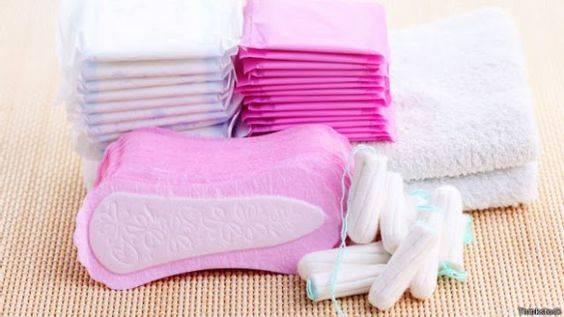 Copa menstrual toallas tampones