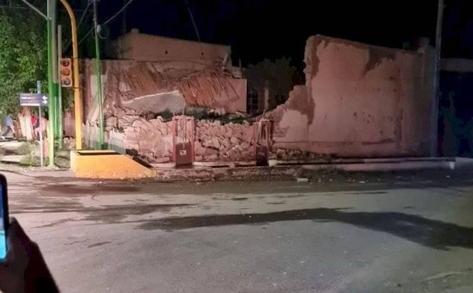 Derrumbe de vivienda en San Juan