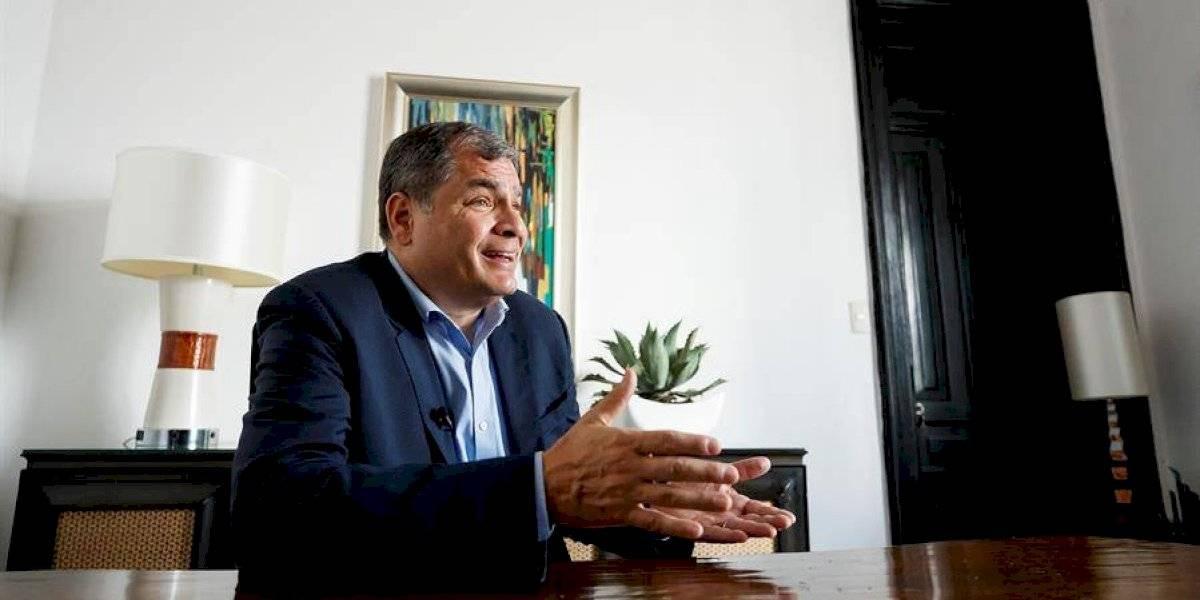 """Rafael Correa sobre Andrés Arauz: """"él muy generosamente ha dicho que le encantaría que lo asesore"""""""