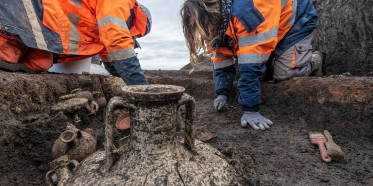Encontraron un entierro de un niño y su perrito en la era romana: ¿por qué este hallazgo es excepcional?