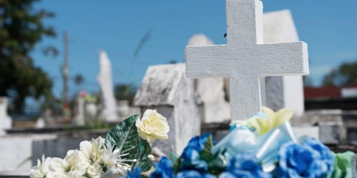 Roban cortadoras de grama de cementerio municipal de San Juan