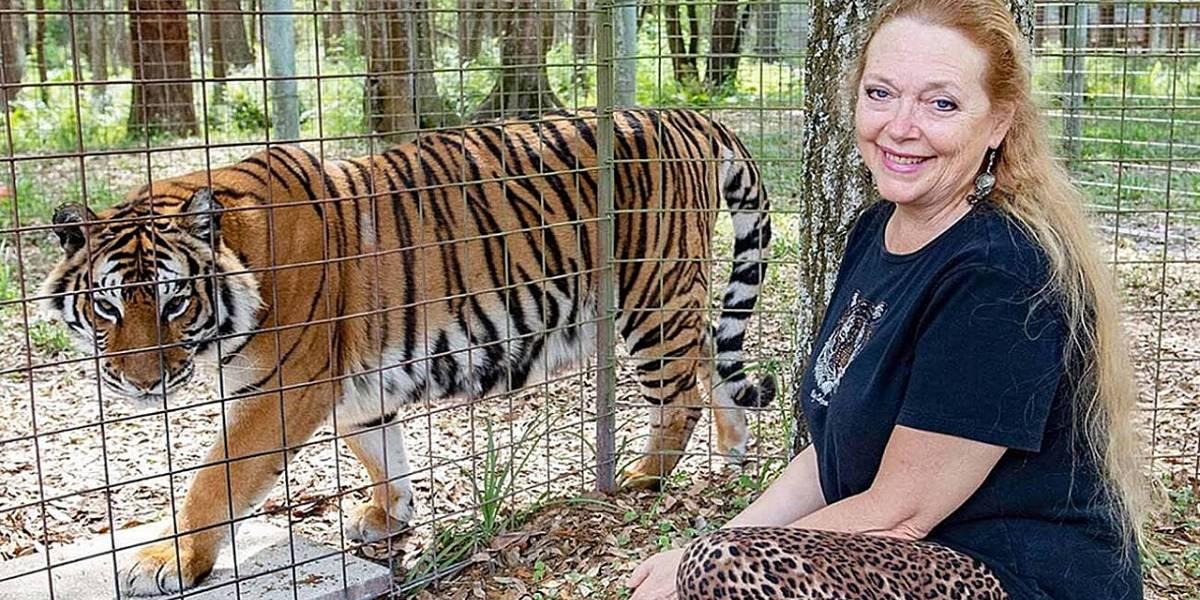Tiger king: Carole Baskin ahora carga una arma consigo gracias a las amenazas de muerte en su contra