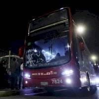 """""""Me siento como en Londres"""", señalan usuarios al usar Turibus ante ausencia del Metro"""