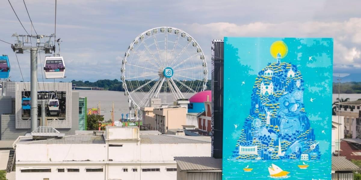 Autoridades presentan Aeroarte, la primera galería aérea de arte del mundo
