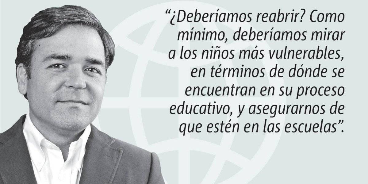 Opinión de Alejandro Figueroa: Reabramos nuestras escuelas