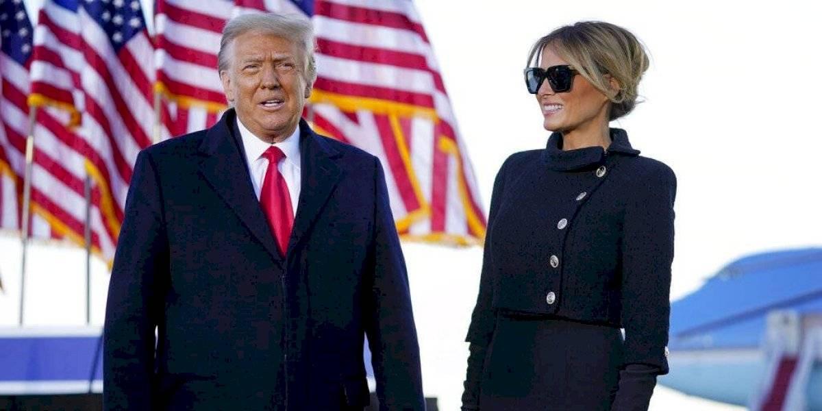 """Trump en su último discurso como presidente: """"Volveremos de alguna manera"""""""