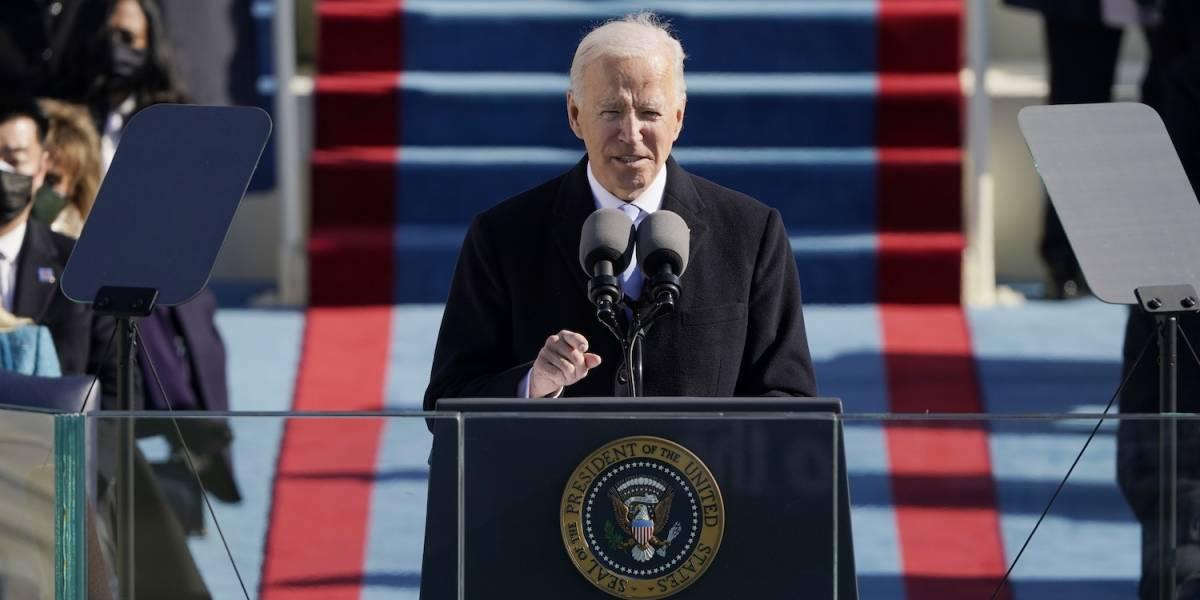[Fotogalería] Así se celebró la juramentación del presidente Joe Biden