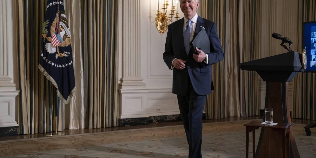 Biden recibe el alta médica tras recuperarse de sus fracturas en el pie
