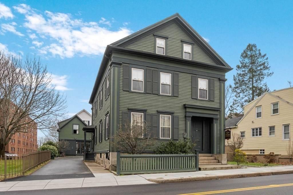 """Casa de Lizzie Borden, la """"asesina del hacha"""" de Los Simpson."""